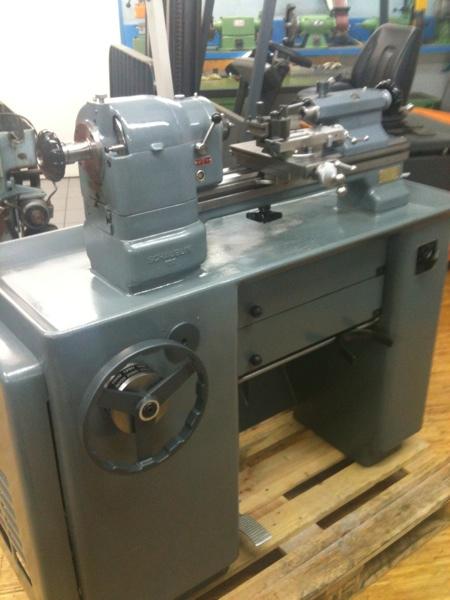 Fabrikat: Schaublin - Typ: 102-80