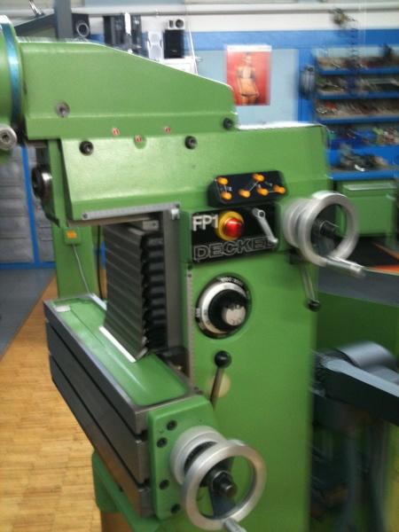 Fabrikat: Deckel - Typ: FP 1