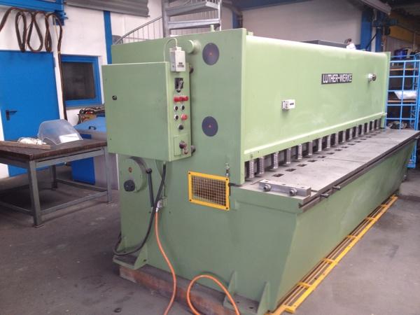 Fabrikat: Luther , Schlagschere - Typ: TS-S 80-8