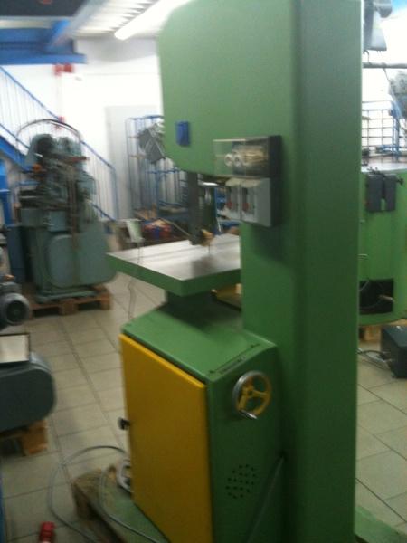 Fabrikat: Jaespa Bandsäge - vertikal - Typ: MSP4